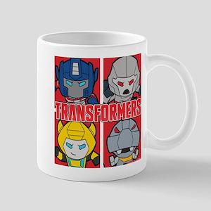 Tranformers Chibis 11 oz Ceramic Mug