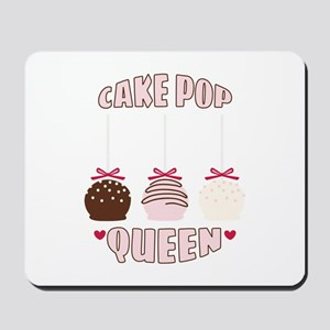 Cake Pop Queen Mousepad