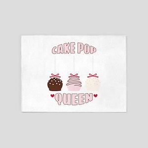 Cake Pop Queen 5'x7'Area Rug