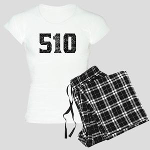 510 Oakland Area Code Pajamas