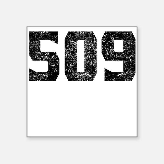 Area Code Stickers CafePress - 509 area code