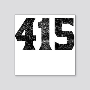 415 San Francisco Area Code Sticker