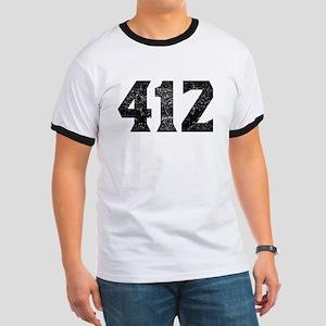 412 Pittsburgh Area Code T-Shirt