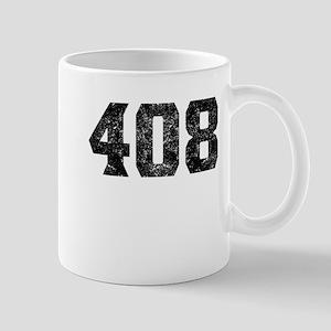 408 San Jose Area Code Mugs