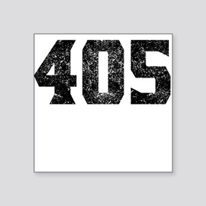 405 Oklahoma City Area Code Sticker