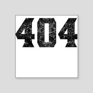404 Atlanta Area Code Sticker