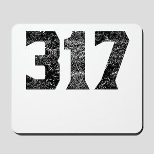 317 Indianapolis Area Code Mousepad