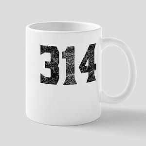 314 St Louis Area Code Mugs