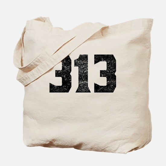 313 Detroit Area Code Tote Bag