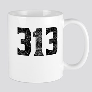 313 Detroit Area Code Mugs