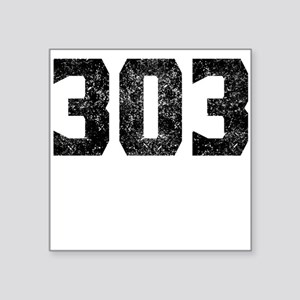303 Denver Area Code Sticker