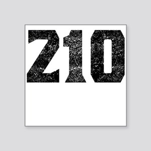 210 San Antonio Area Code Sticker