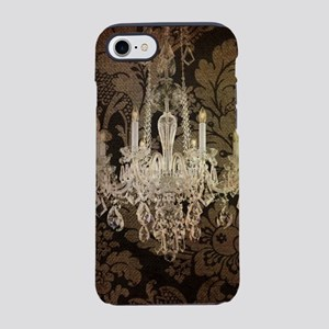 steampunk damask Paris chand iPhone 8/7 Tough Case