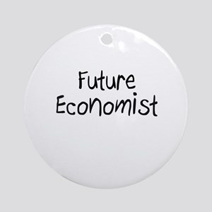 Future Economist Ornament (Round)