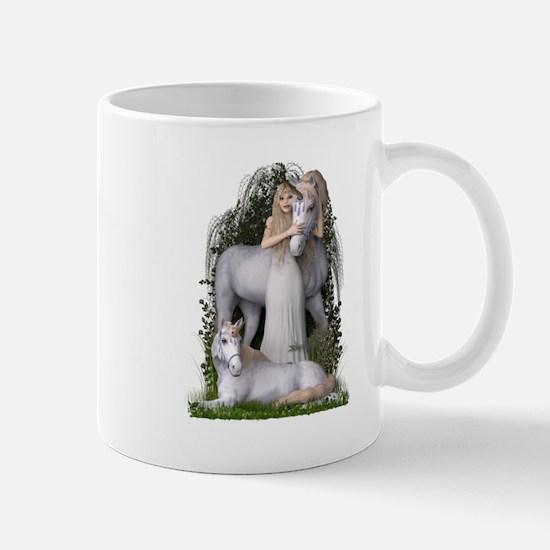 Angel and Unicorns Mugs