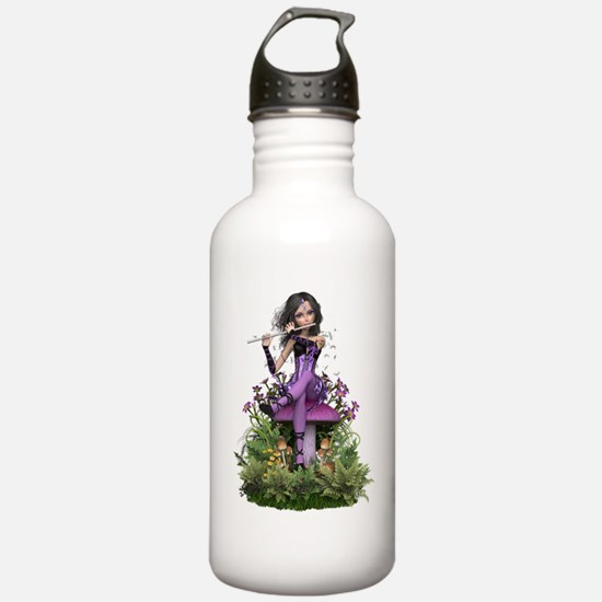 Amethyst ~ Flute Faeri Water Bottle