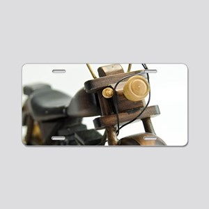 Toy Motorcycles Aluminum License Plate