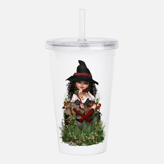 Little Witch ~ Hubble Acrylic Double-wall Tumbler