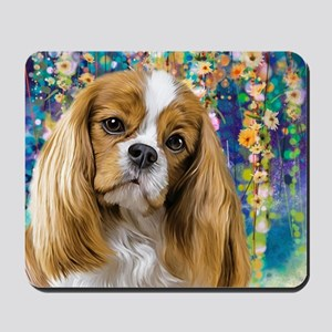 Cavalier King Charles Spaniel Painting Mousepad
