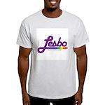 lesbo Ash Grey T-Shirt