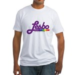 lesbo Fitted T-Shirt