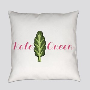 Kale Queen Everyday Pillow