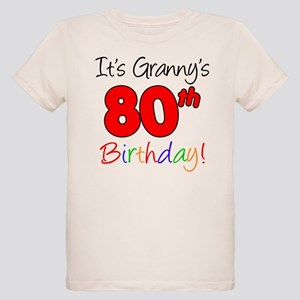 Its Granny 80th Birthday T Shirt