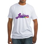 lesbian Fitted T-Shirt