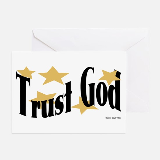 Trust God Greeting Cards (Pk of 10)