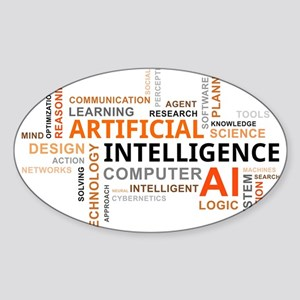 word cloud - artificial intelligence Sticker