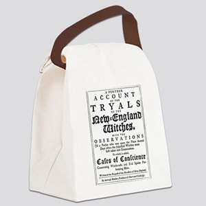 Old Salem Witch Trials Canvas Lunch Bag