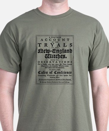 Old Witch Trials Page T-Shirt