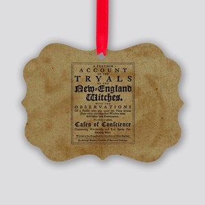 Old Salem Witch Trials Ornament