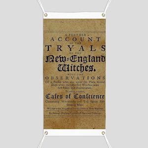 Old Salem Witch Trials Banner