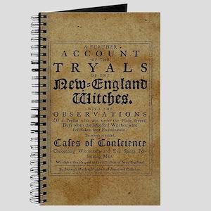 Old Salem Witch Trials Journal