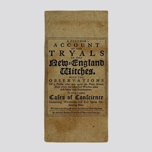 Old Salem Witch Trials Beach Towel