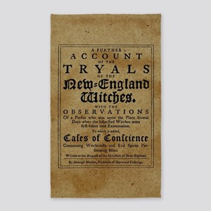 Old Salem Witch Trials Area Rug