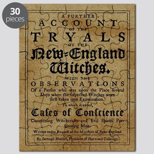 Old Salem Witch Trials Puzzle