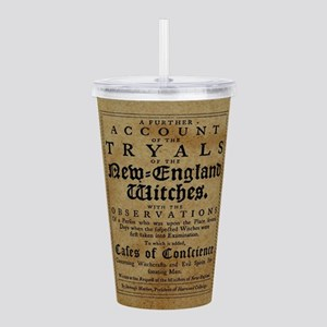 Old Salem Witch Trials Acrylic Double-wall Tumbler