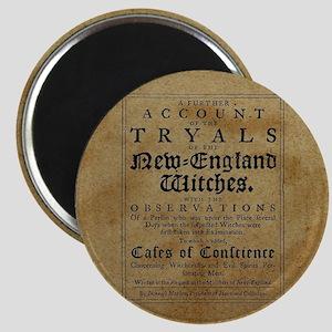 Old Salem Witch Trials Magnets