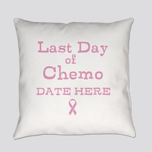 Last Day of Chemo Everyday Pillow