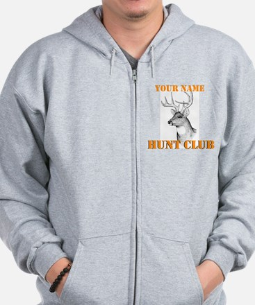 Custom Hunt Club Zip Hoodie