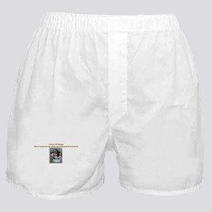 Sleeps with Jack Russells Boxer Shorts