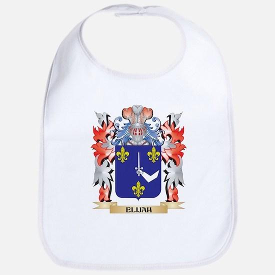 Elijah Coat of Arms - Family Crest Bib