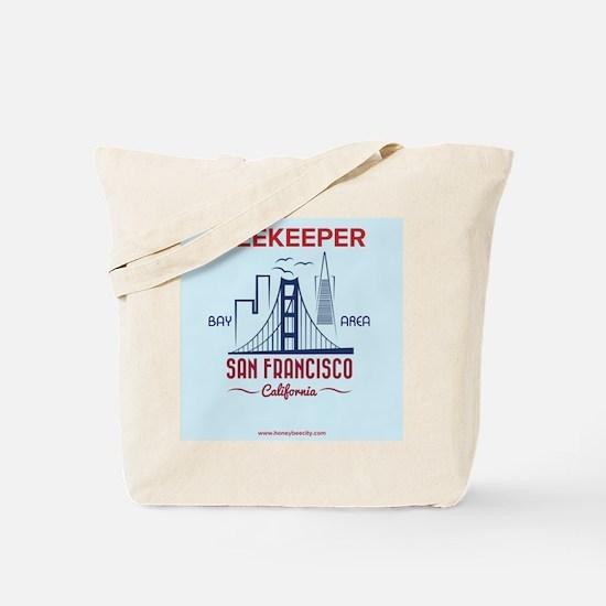 San Fran Beekeeper Tote Bag