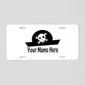 Pirate fun Aluminum License Plate
