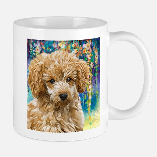 Poodle Painting Mugs