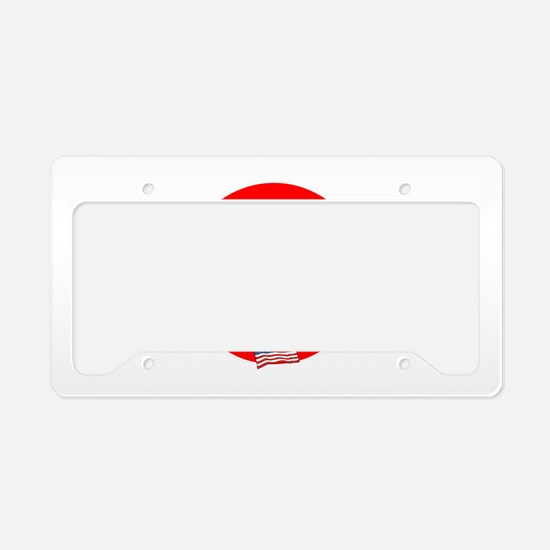 America is already great! License Plate Holder