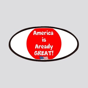 America is already great! Patch