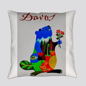 Vintage Davos Switzerland Travel - Beaver Everyday